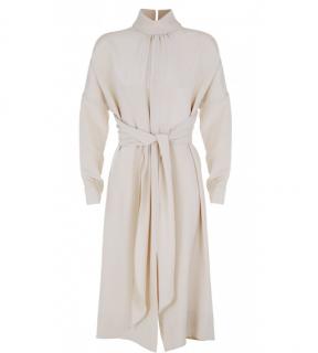 Tibi Silk Solman Sleeve Dress
