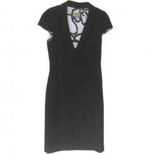 Paul Costelloe Collections black wool dress Size 12