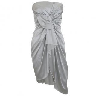 Jasmine Di Milo Draped Satin-Silk Evening Dress
