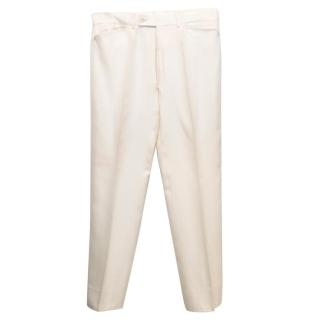 Tom Ford Cream Trousers