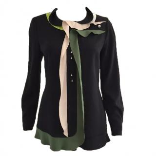 Peter Pilotto silk blouse size 10UK