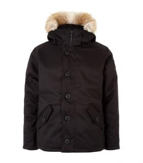Canada Goose 2016 'Cumberland' men's jacket, BNWT feather, fur, black, limited edition.