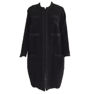 Paul Smith Mainline Black coat Size42