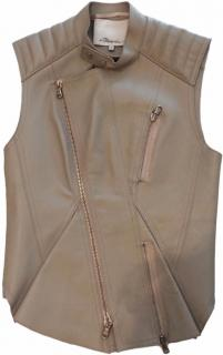 Phillip Lim Leather Gilet. Size 0USA