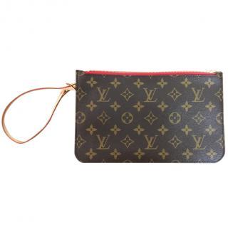 Louis Vuitton Neverfull wrist pochette