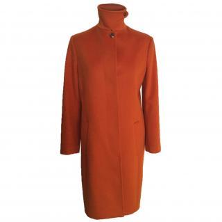 Paul Smith orange wool coat