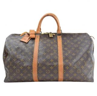 Louis Vuitton Keepall 50 Monogram Travel Bag 10224