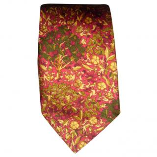 Liberty red and gold tie