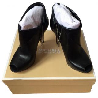Ladies Michael kors peep toe ankle boots