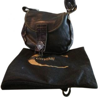 Just Cavalli Leather Handbag