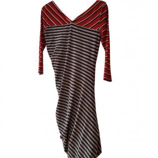 Sportsmax stripe dress size 12