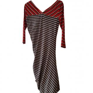 Sportsmax stripe dress size 12