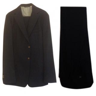 Vivienne Westwood MAN suit, (56) L, deep navy, pure wool