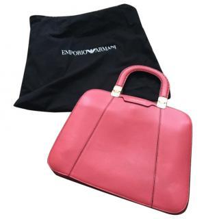Emporio Armani dusky pink handbag