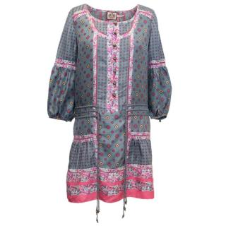 Juicy Couture Patterned Tunic Dress