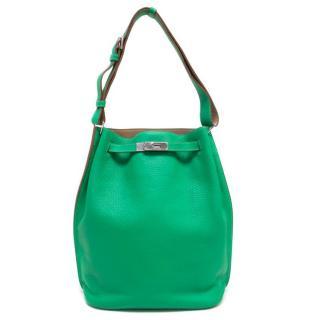 Hermes Green 26cm So Kelly Bag