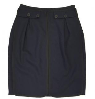 Viktor & Rolf Skirt Navy Black