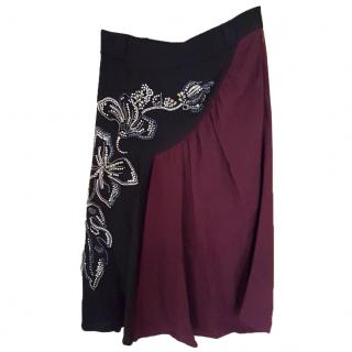 NEW Prada skirt with embroidery and applique work RRP �1180 OPEN TO OFFERS