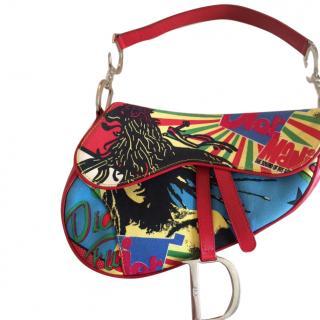 Christian Dior Bob Marley saddle bag