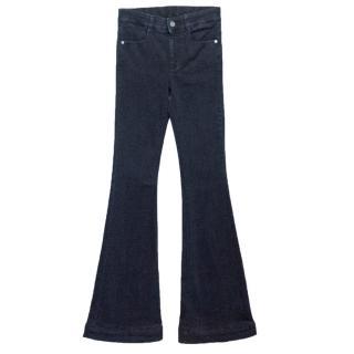 Stella McCartney Blue Midrise Flare Jeans