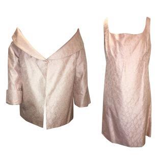 Anna Molinari Pink Dress and Jacket