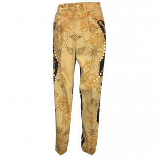 Roberto Cavalli casual trousers