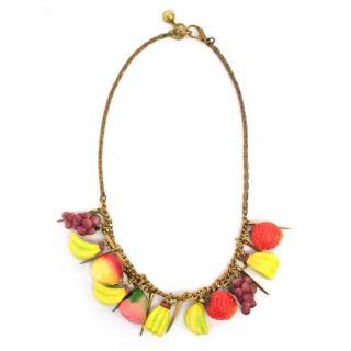Lulu Frost Fruit Necklace