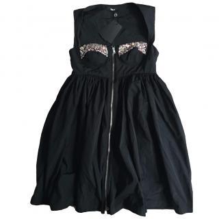 Versus Versace Black Party Dress