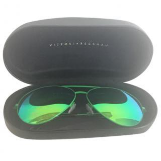 Victoria Beckham oversized aviator sunglasses