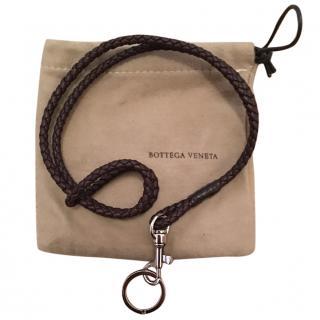 Bottega Venetta long leather key holder