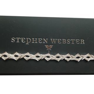 Stephen Webster Diamond Classic Tattoo Bracelet