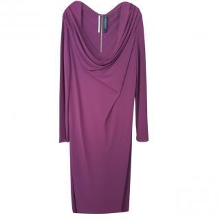 Roland Mouret Cowl Neck Dress