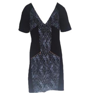 Matthew Willaimson Black and Blue Dress