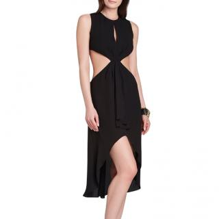 BCBG MAX AZRIA Black Mid-length Dress