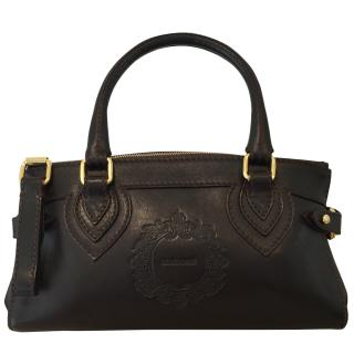 Cavalli Brown Leather Bag