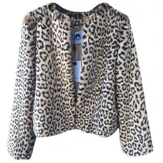 Blumarine faux fur jacket