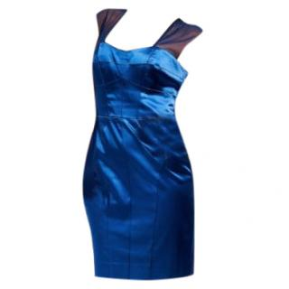 Nicole Miller Midnight Blue Dress