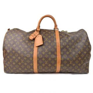 Louis Vuitton Keepall 60 Brown Monogram