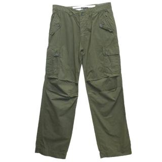 James Perse Khaki Cargo Trousers