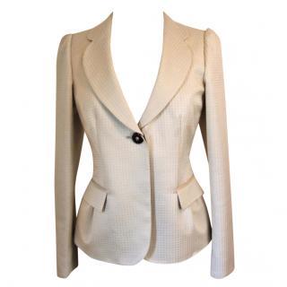 Armani Collezioni cream jacket, size 46