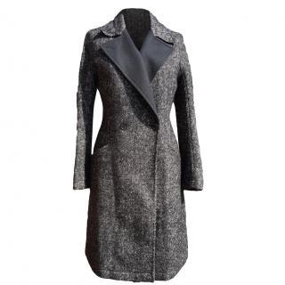 ETRO wool blend tweed coat