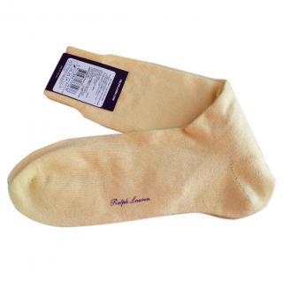 Ralph Lauren Purple Label cashmere socks