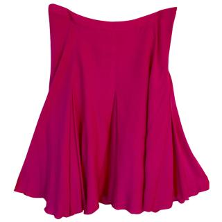 Marvel By la Perla Pink Silk Blend Skirt