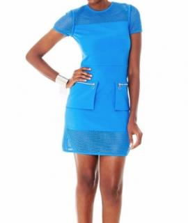 Versus Blue Mesh Dress