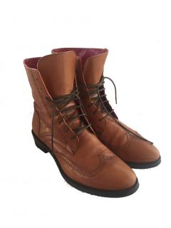 Navyboot leather booties