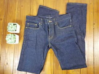 Saint Laurent  Men's Jeans M/ST-LW Denim Indigo