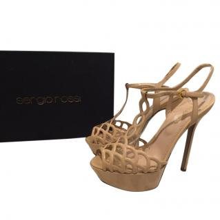 Sergio Rossi vague sandals