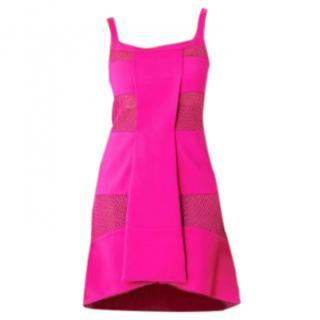 Versus Versace Pink Mesh Dress