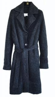Maison Margiela wool blend cardi coat