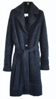 Maison Margiela wool blend cardi coat